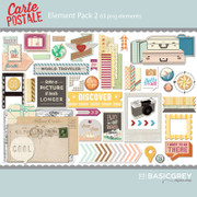 Carte Postale Element Pack 2