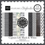 Capture Life Black & White Paper Pack