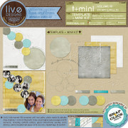 T+Mini Vol. 11 - Story Circles is perfect for documenting the stories of your life!