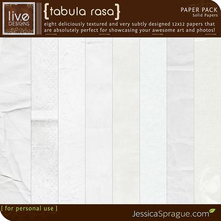 liv.edesigns Tabula Rasa Paper Pack
