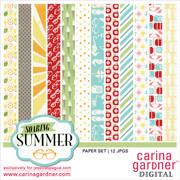 Soaring Summer Paper Set