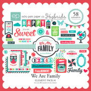 We are Family Element Pack #1
