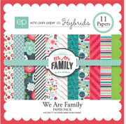 We are Family Paper Pack #2