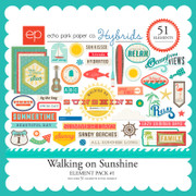 Walking on Sunshine Element Pack #1