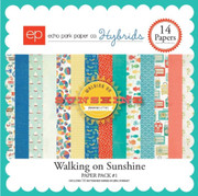 Walking on Sunshine Paper Pack #1
