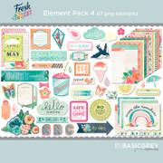Fresh Cut Element Pack 4