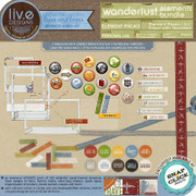 liv.edesigns Wanderlust Element Bundle (Vol. 1 & 2 in a bundle)