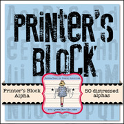Printer's Block Alpha