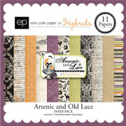 Arsenic and Lace Paper Pack