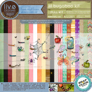 liv.edesigns Lil Bugaboo Kit - All the delicious papers and handpainted rub-ons!