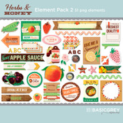 Herbs & Honey Element Pack 2