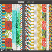 Sunshine | Patterned Papers