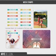 Week Stamps | Set 1