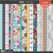 Piazza | Patterned Papers