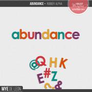 Abundance | Rubber Alpha
