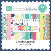 Creative Agenda Paper Pack #1