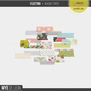 Fleeting | Washi Tapes