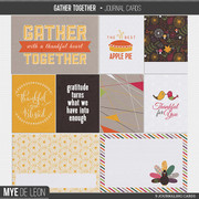 Gather Together | Journal Cards