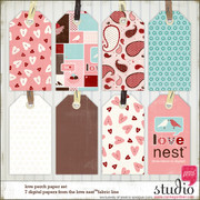 LOVE NEST Love Perch Paper Set