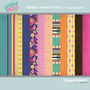 Grand Bazaar Paper Pack 1