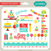 Birthday Fun Elements