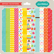 Birthday Fun Patterns