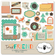 True Friend Element Pack #1