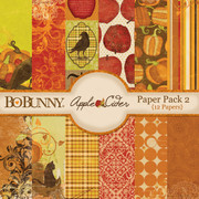Apple Cider Paper Pack 2