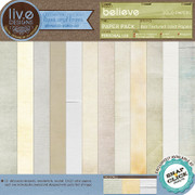 liv.edesigns Believe Solid Papers