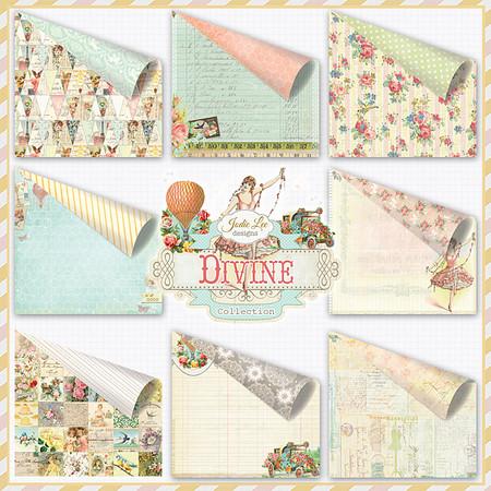Divine Papers by Jodie Lee