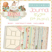 Divine Printable Journal by Jodie Lee Designs.