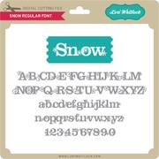 LW Snow Font