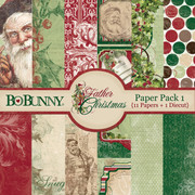 Father Christmas Paper Pack 1
