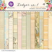 Ledger no.1 Paper Pack