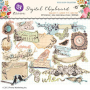 Pixie Glen Digital Chipboard