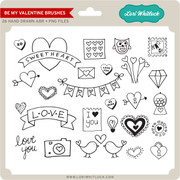 Be My Valentine Brushes + PNG