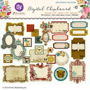 Reflections digital chipboard