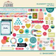 J'Adore Element Pack 1