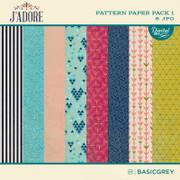J'Adore Paper Pack 1