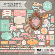 Butterfly Kisses | Element Pack