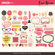 Love Stories Stickers