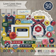 Love Lives Here | Element Pack 2