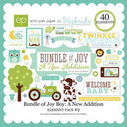 Bundle of Joy Boy: A New Addition Element Pack #2