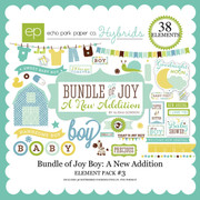 Bundle of Joy Boy: A New Addition Element Pack #3
