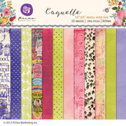 Coquette digital paper pack
