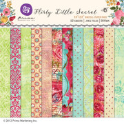 Flirty Little Secret digital paper pack