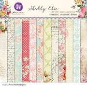 Shabby Chic digital paper pack