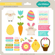 Easter Friends Elements