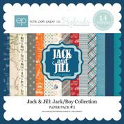 Jack & Jill: Jack/Boy Paper Pack #1
