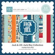 Jack & Jill: Jack/Boy Paper Pack #2